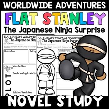 Flat Stanley: The Japanese Ninja Surprise Novel Study