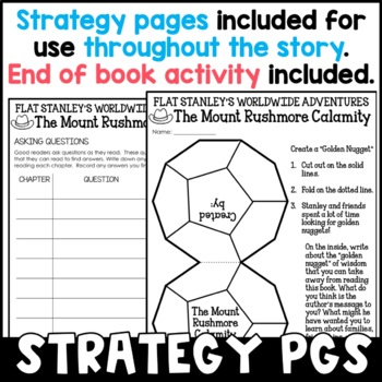 Flat Stanley: The Mount Rushmore Calamity Novel Study
