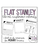 Flat Stanley The Mount Rushmore Calamity {A Book Study Companion for K/1/2}