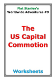 """Flat Stanley """"The US Capital Commotion"""" worksheets"""