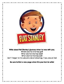 Flat Stanley Travel Journal