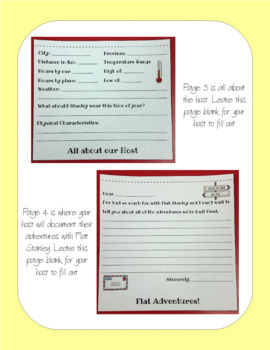 Flat Stanley Travel Journal Flip Book