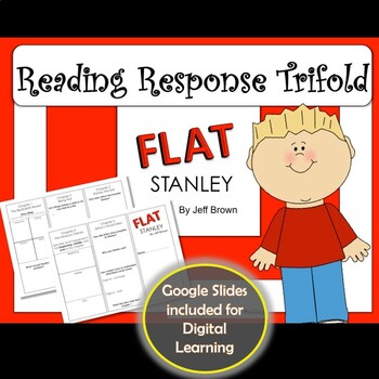 Flat Stanley Reading Response Trifold