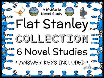 Flat Stanley Ultimate Collection (Jeff Brown) 6 Novel Studies / Comprehension