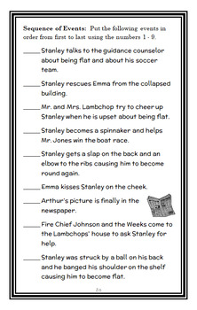 Flat Stanley Ultimate Collection (Jeff Brown) 6 Novel Studies / Comprehension