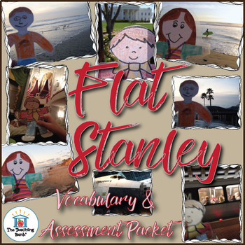 Flat Stanley Vocabulary and Assessment Bundle