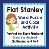 Flat Stanley Activity Word Puzzle Comprehension