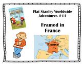 Flat Stanley Worldwide Adventures #11 - Framed in France