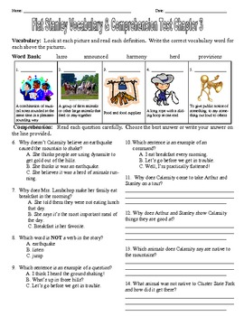 Flat Stanley Worldwide Adventures Chapter Assessments