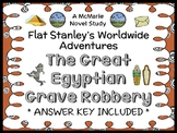 Flat Stanley Worldwide Adventures: The Great Egyptian Grave Robbery Novel Study