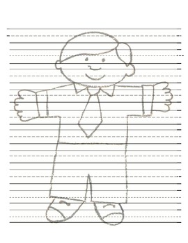 Flat Stanley Writing Journal