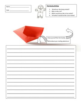Flat Stanley Writing Prompt