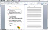 Flat Stanley Writing Prompts Progress Monitoring
