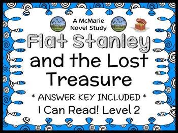 Flat Stanley and the Lost Treasure (I Can Read!) Novel Study / Comprehension