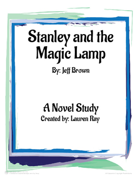 Flat Stanley and the Magic Lamp Comprehension Packet