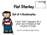 """""""Flat Stanley"""", by J. Brown, Set of 4 Bookmarks"""