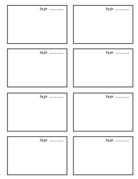 """Flat Stanley"", by Jeff Brown, Vocabulary Words Packet"
