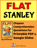 Flat Stanley: comprehension questions, vocabulary and answ
