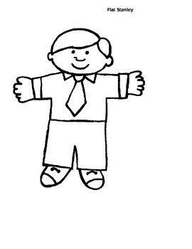 Flat Stanley goes to ONE place, letter writing