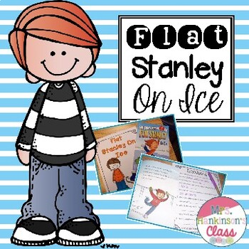 Flat Stanley on Ice book unit