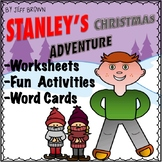 Flat Stanley's Christmas Adventure Novel Study No Prep Wor