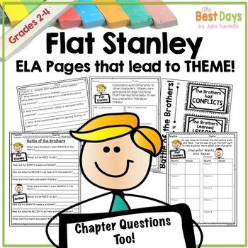 Flat Stanley's Original Adventure: ELA Activities That Lead to Theme!
