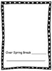 Flat Stanley's Spring Break Class Book