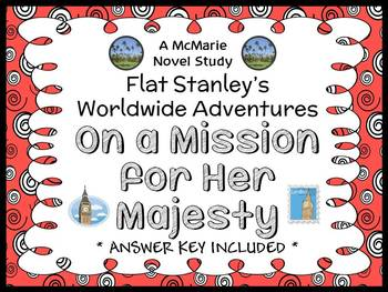 Flat Stanley's Worldwide Adventures #14: On a Mission for Her Majesty (24 pages)