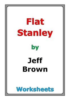"""Jeff Brown """"Flat Stanley"""" worksheets"""