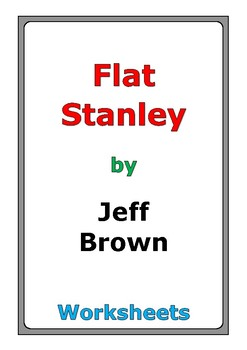 "Jeff Brown ""Flat Stanley"" worksheets"