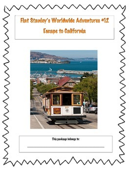 Flat Stanley's Escape to California (Whole Book Comprehension Package)