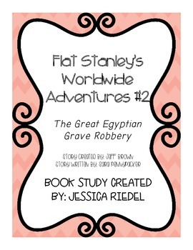 Flat Stanley's Worldwide Adventures #2:  The Great Egyptian Grave Robbery Study