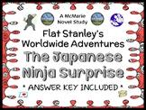 Flat Stanley's Worldwide Adventures #3: The Japanese Ninja Surprise Novel Study
