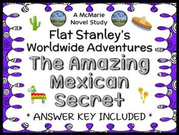 Flat Stanley's Worldwide Adventures #5: The Amazing Mexican Secret Novel Study