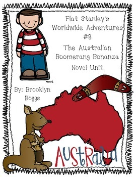 Flat Stanley's Worldwide Adventures #8: The Australian Boomerang Bonanza (27pgs)