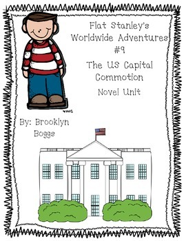 Flat Stanley's Worldwide Adventures #9: The US Capital Commotion (32 pages)