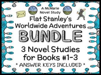 Flat Stanley's Worldwide Adventures BUNDLE (Jeff Brown) Books 1 - 3