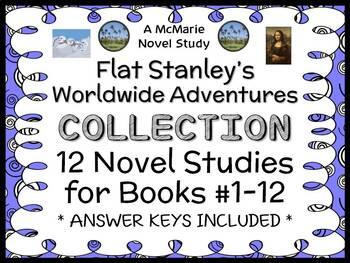 Flat Stanley's Worldwide Adventures COLLECTION : ALL 12 Novel Studies