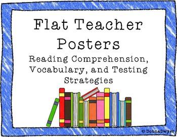 Flat Teacher Posters