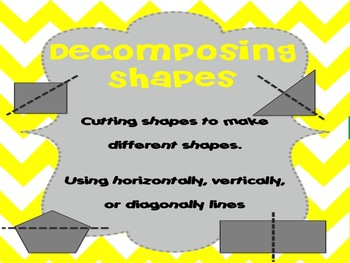 Flat and Solid Shapes Anchor Charts, Graphic Organizers, and Writing Frames