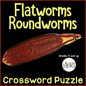 Flatworms and Roundworms   Platyhelminthes and Nematoda Crossword Puzzle