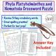Flatworm and Roundworm (Platyhelminthes and Nematoda) Cros