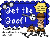 "Flawed Reasoning: ""Get the Goof!""  Analyzing Mathematical"
