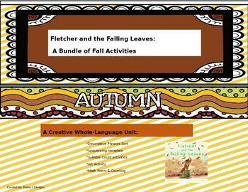Fletcher and the Falling Leaves: A Whole-Language Unit