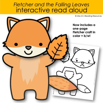 Fletcher and the Falling Leaves Interactive Read Aloud and Activities