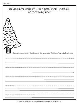Fletcher and the Snowflake Christmas Book Companion