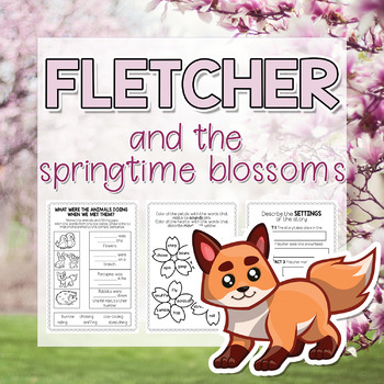 Fletcher and the Springtime Blossom activities (Julia Rawlinson) Book Companion