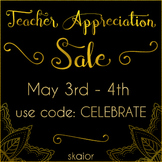 Teachers Appreciation Sale Banners FREE