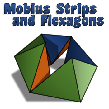 Flexagons and Mobius Strips Activity w/ Template