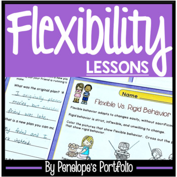 FLEXIBILITY Character Education Packet